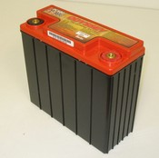 Enersys PC680 12 Volt/16 Amp Hour Dry Cell SLA Battery, Female threaded for M6 SS bolt w/factory L-bracket