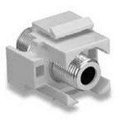 Legrand F3482WH Self-Terminating F Connector, White