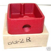 Honeywell Fire Systems BG2R Backbox Surface Mount Red BG-8