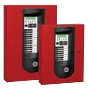 GE Security FX3RD 3 Zone Fire Alarm Control Panel FX Conventional 3 Zone 2 NAC's UD Dialer 24VDC Red
