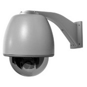 GE Security GEA-H3-D26SN-IP Legend IP Dome, 26X Day/Night,Pendant Mount Housing, Clear Acrylic, NTSC