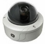 GE Security GECDREUVA9 DR2 Rugged Dome 540 TVL UTP NTSC 9-22MM Varifocal Auto Iris 12VDC/24VAC