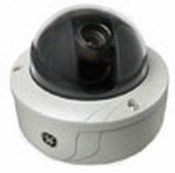 GE Security GECDRHDNUVA3 DR2 Rugged Dome, 500 TVL WDR, Day/Night, UTP, NTSC, 3 3 12MM