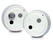 Gentex 7103F, P/E Smoke Detector, 120VAC w/Temporal 3, Form A/C Contacts