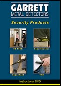 Garrett Metal Detectors 1678600 Security Products DVD: Featuring the PD 6500i, SuperWand, SuperScanner and THD