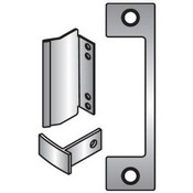 Hes T630 Satin Stainless Steel 1006 Faceplate for HES 1006 Series Electric Strikes for Mortise Lockset with 1 Inch Deadbolt and Center-Lined Deadlatch T PLATE