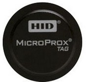 HID 1391LBSNN Microprox Tag, Prog 125k, Blk, Adh Bckg, Matc Minimum Purchase Must Be 100 Pieces