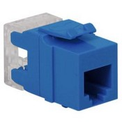 ICC IC1076F0BL HD RJ-11 Keystone Jack, Blue