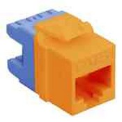 ICC IC1078F5OR Cat 5E High Density Modular Orange