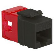 ICC IC1078F6BK HD CAT 6 Keystone Jack, Black