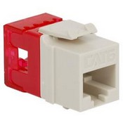 ICC IC1078F6WH HD CAT 6 Keystone Jack, White