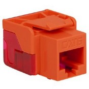 ICC IC1078L6OR EZ CAT 6 Keystone Jack, Orange
