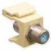 ICC IC107B9FAL GHz F Connector for CATV Almond