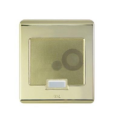 legrand ic5002sb selective call intercom door unit shiny brass. Black Bedroom Furniture Sets. Home Design Ideas
