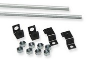 ICC ICCMSLCMRK Ladder Rack Ceiling Rod Kit