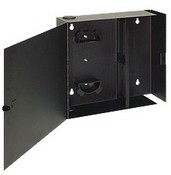 ICC ICFOD104BK 4 Panel Fiber Optic Wall Mount Enclosure