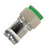 Belden DB6PL2 Double Bubble Connector, F-Type Compression, RG6 Type 2