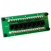 ICC ICRESDPA3C 8-Port Compact CAT 5e Data Module