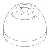 GE Security IDH-5200 Sunshield for Legend IP PTZ Cameras