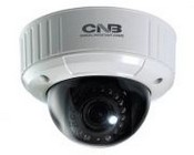 CNB IDP4030VR 1.3M 3~9MM Varifocal Lens, 3 Axis, True Day/Night 18 LEDs IP Indoor Dome Camera