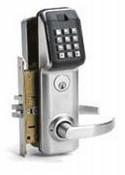 Linear LS2PM26DAM Software Managed Keypad With Mortise Locksets