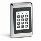 Linear SSW-ILW SSW Series iLW Style Flush-mount Weather Resistant Backlit Access Control Keypad
