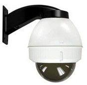 "Videolarm IFDW75TN IP Network Ready 7"" Indoor Dome Housing With Wall Mount, Tinted Dome"