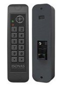 Isonas RC-03-MCT-K Reader, Powernet, Mullion, Keypad