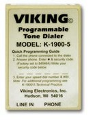 Viking Electronics K-1900-5 Hot-Line Dialer,Touch Tone