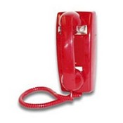 Viking Electronics K1500PWI Mini Red Wall Phone with Special Wrong