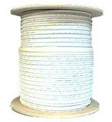Keystone Wire & Cable CMRIC00424STL5 4 Pair CAT5e Shielded CMR 1000 Feet