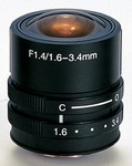 Kowa Optimed LMVZ164A 1.6-3.4Mm Fl.4 Cs 1/3? Dc Ai Lens