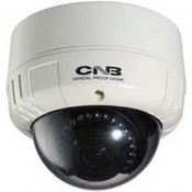 CNB LDB-24VF Blue-i Indoor IR Vandal-Resistant Dome Camera, 20 LEDs
