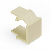 Leviton Manufacturing 41084BTB Blank Faceplate Insert Light Almond