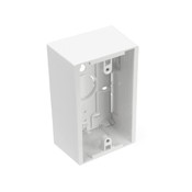 Leviton Manufacturing 427771WA Surface Mount Backbox, single gang, white. Box depth is 1.89 inches