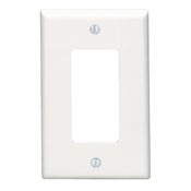Leviton Manufacturing 80601W Leviton Mid Single Decora White