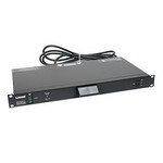 Lowell Manufacturing Co ACR1506LTS 1U Rackmount Panel With 3 Duplex Outlets
