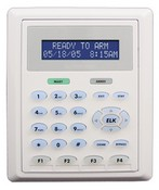 ELK M1KP2 LCD Keypad, 32 Char Alpha, Flush Mount Option