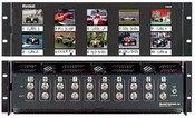 Marshall Electronics V-R25P Ten 2.5 inch LCD Screen Rack Mount Panel