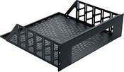 Middle Atlantic Products RSH4A4R Custom Rackshelf 4 Space Anodized 15.5, Specify Unit to Mount