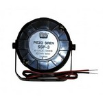 Mg Electronics SSP3 Piezo Super Siren, High Impact Black Abs