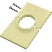 Midlite 1GSAL Single Gang Splitport (Light Almond)