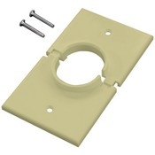 Midlite 1GSIV Single-Gang Splitport (Ivory)
