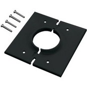 Midlite 2GSBK Black 2 Gang Splitport