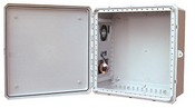 Mier Products BW-242410ACE Outdoor NEMA 4 Temperature Controlled Non-Metallic Enclosures