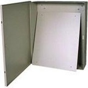Mier Products BW98B Beige Metal Alarm Cabinet
