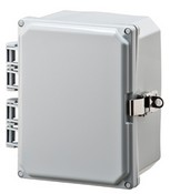 Mier Products BW-SL864 8x6x4 Non-Metal Latch-Enclosure