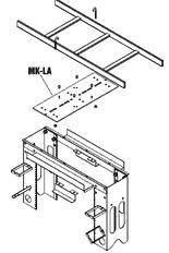 Middle Atlantic MK LA Ladder Adapter Kit For MK Rack _p_146881