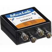 Muxlab 500037 Quad Video Balun with BNC Connectors