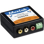 Muxlab 500049 Stereo AV/IR Pass-Thru Balun (Female)